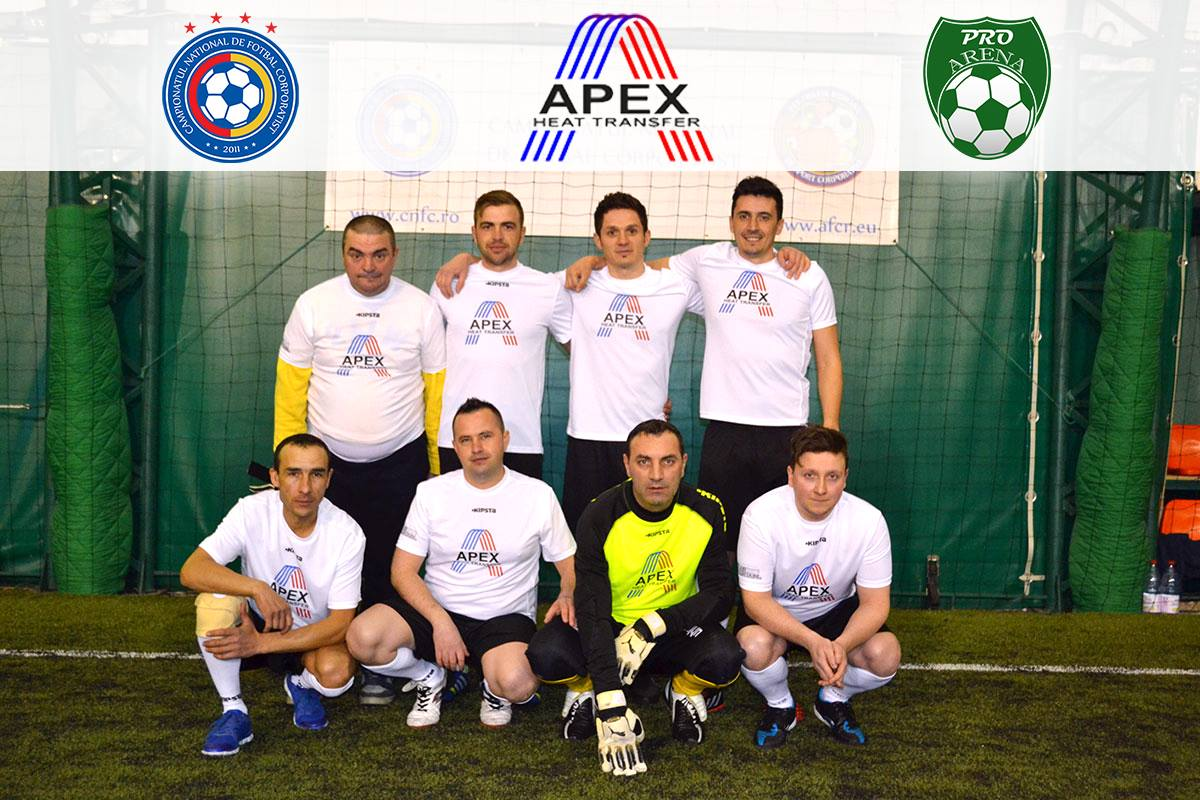 echipa minifotbal apex group