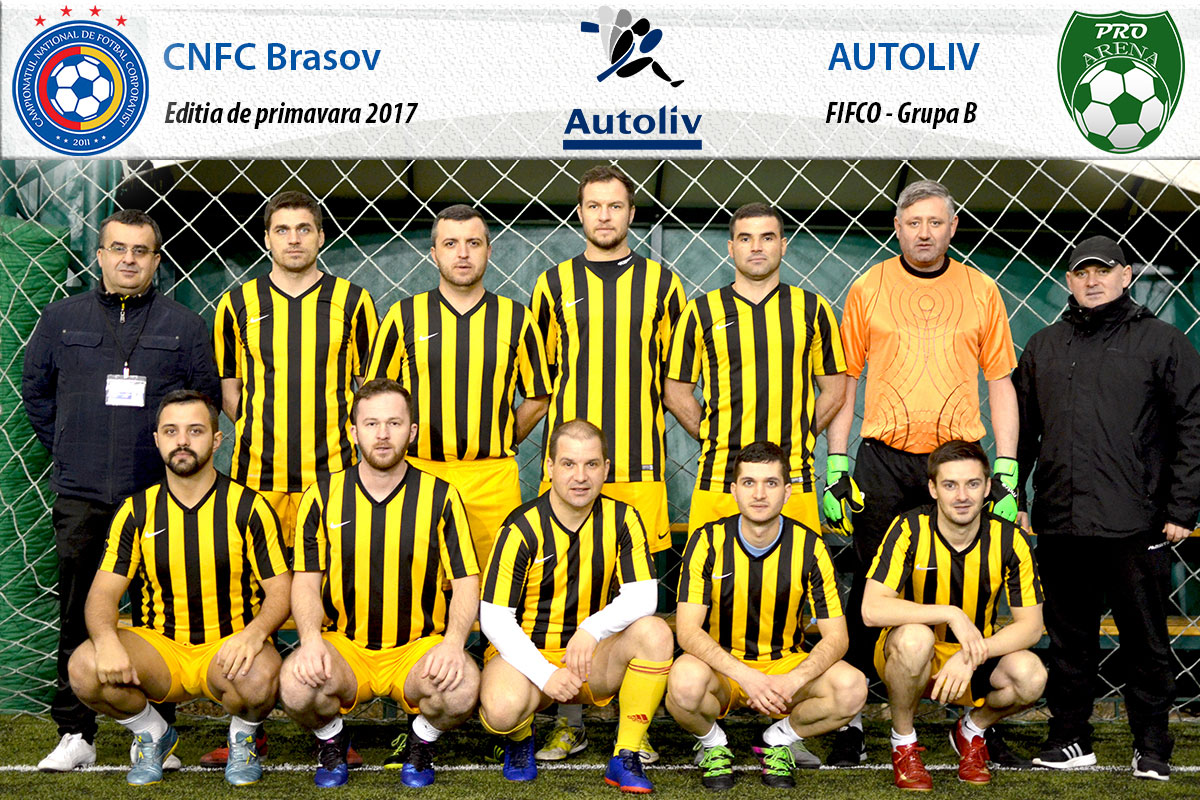 echipa minifotbal autoliv brasov