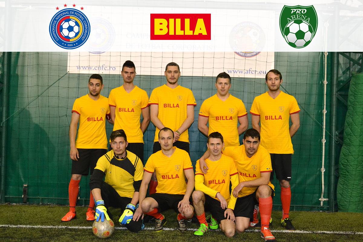 echipa minifotbal billa brasov
