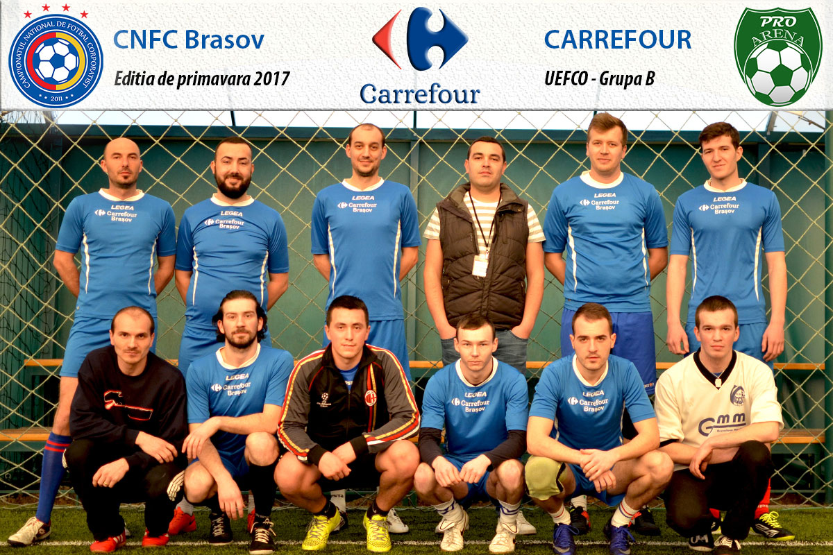 echipa minifotbal carrefour brasov